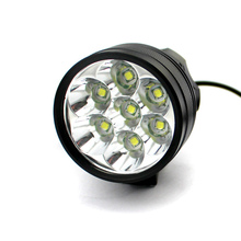 3 modes 7in 1LED 8000lumens lowest price led bike light lamp with battery