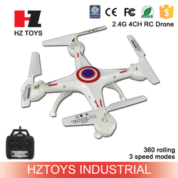 Flying toy 2.4g ufo rc helicopter with 3 speed modes.