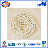 3-strand 8mm cotton rope made in China factory
