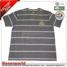 20 years professional BSCI certified t shirt 100 cotton export quality