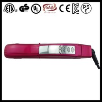 Digital LCD display 2 in 1 professional heated hair straightener hair roller
