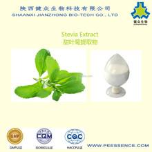 GMP Factory natural sweetener Stevia P.E., Stevia extract, Rebaudioside A, Stevioside
