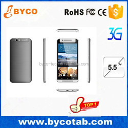 telephone portable 3g 5.5'' dual sim android 4.4 smart phone mobile phone manufacturer in china