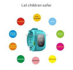 Popular Emergency GPS Tracker Security Children Kids Smart Watch With SIM Card Slot SOS Phone Call For Children Old People