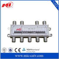 5-1000MHz indoor high isolation catv 8-way splitter