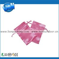 Low price promotional silk pouch for smartphone