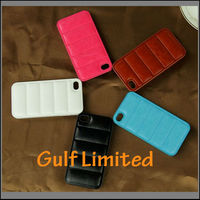 hand warmer phone case PU leather case for iphone 4s