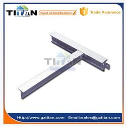 Flat Suspension T Grid Material, Ceiling T Profile