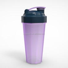 Promotion Item 600ML Protein PP bpa free plastic 2013 protein shake shaker bottle With Wire Whisk Ball