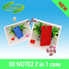 Sublimation phone case for samsung galaxy Note 7100 high quality 2 in 1 phone case cover skin