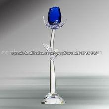 flor de cristal de colores
