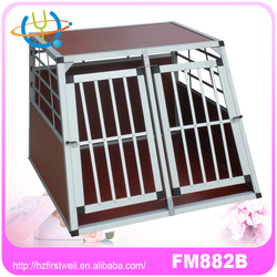 Aluminum pet cage,dog transport kennels,big dog crate