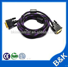 Belgrad dvi to dvi cable male to male with low price