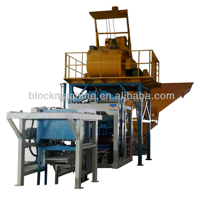 Cement Block Plant Machines : Qt hydraulic cement block making machine buy