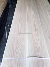 Crown Cut Natural Red Oak Wood Veneer for decoration, face veneer