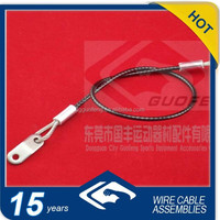 security wire rope for streetlamp with loops+iron sheet
