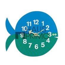 Original forma de los pescados relojes de pared para decoración / moderna de madera del análogo de cuarzo de los animales