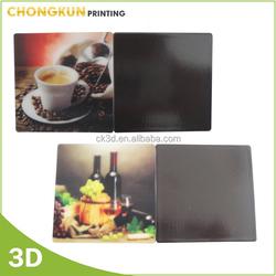 OEM design Lenticular Printing Plastic PP/PET/PVC 3D souvenir fridge magnet