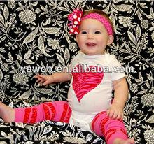 Valentine Boutique Wholesale Spring Newborn cute baby cotton romper fashion design girl romper heart dress clothes baby rompers