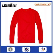 Customized high-quality cozy long-sleeve red shirt