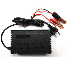 Sealed Lead Acid Battery Charger Car Electric Bicycle Motorcycle Battery Trickle Charger Alligator Clips
