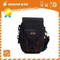 Small size Fashion nylon waterproof and shockproof camera case for point-and-shoot camera