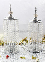 glass candle holder/glass candle holder stem/wholesale glass candle warmer crystal