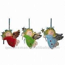 Fabric Handmade Angel Christmas tree ornaments decorations