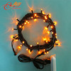 High quality 10m 100led rubber wire festival garden hot led decorative tree lights