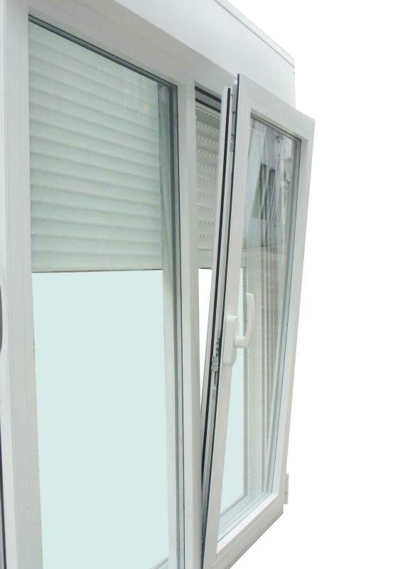 Ventana abatible de aluminio persianas y mosquiteras for Puertas monoblock precio