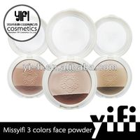 Distributor!2 colors cosmetic pressed face powder 78 eye shadow