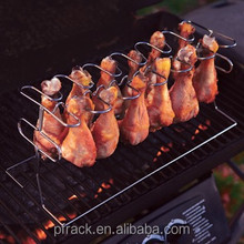 Stainless steel wire roasting chicken barbaque stand grill