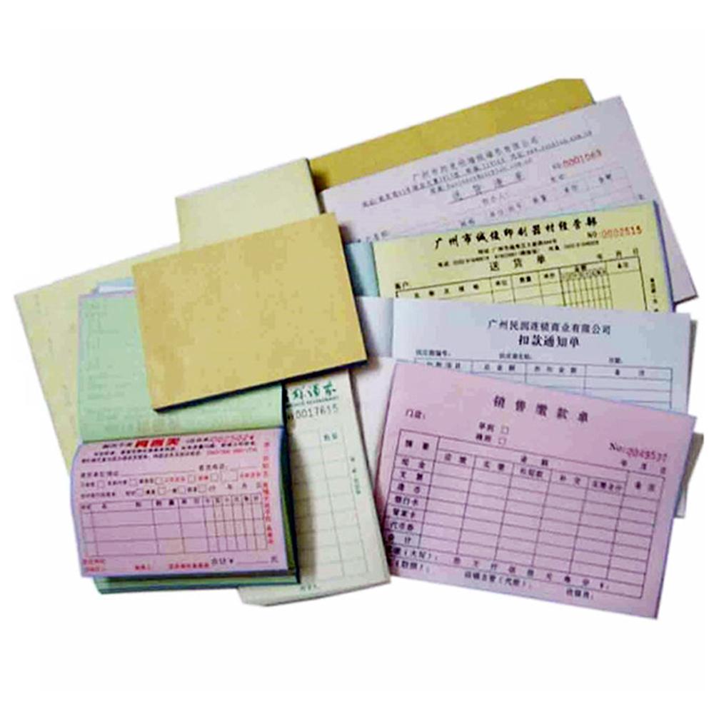 manufacturer supply duplicate ncr sample cash receipt book printing