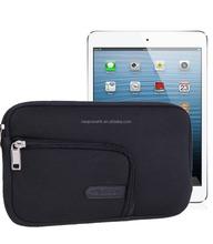 Black style OEM logo neoprene Tablet cover Tablet case