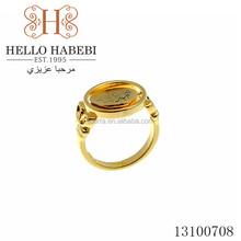 wholesale China 18k golden ring
