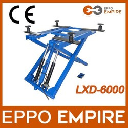 2014 hot sale CE approved car scissor lift / used home garage car lift