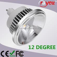 ar111 gu10 led 12w dimmable, reflector cob led ar111 lamp, gu10 ar111 led for indoor retrofit