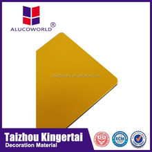 Alucoworld fabrication of aluminum windows and doors fireproof acp manufacturer in jiangsu