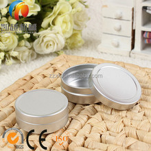 Empty Lip Balm Pots 15ml Small Aluminium Lip Gloss Tins Pot Jars Craft Nail Art