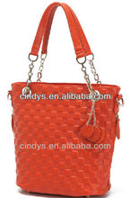Tote and scarlet handbag for 2013 lady
