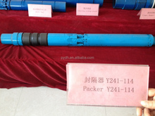 Y241 single slip casing packer