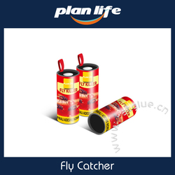 Hot Selling Hanging Fly Trap Fly Catcher Ribbon Paper Glue