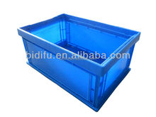 foldable plastic crate for transport 541*366*190mm