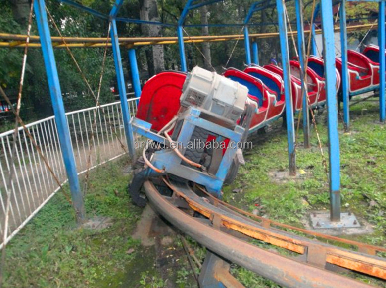 Ride On Train For Backyard : Theme Park Train Mini Backyard Roller Coaster Slide Dragon Rides  Buy