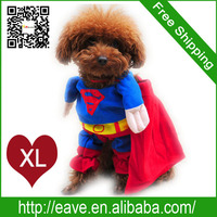 XL Size Pet Dog Winter Clothes Change Superman Lincarnations Loaded Jumbo Factory Produce Fast Shipping