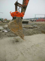 Excavator Hydraulic Quick Coupler quick hitch for DH225