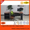 2015 L shape executive modern desk, office furniture