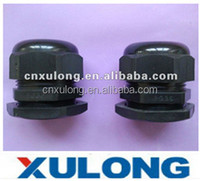 black color PG36 PG metric nylon cable gland size