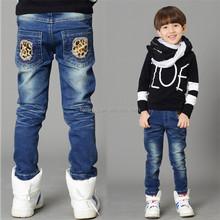 2015 Factory price wholesale fashion denim jean for kids boy
