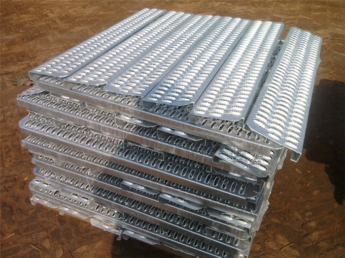 Slip Stair Treads Aluminum Antiskid Plate Perforated